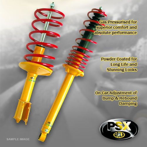 S-Class (W126)-79-90--420 - 560 SEL & SEC --Lowering:45mm- Upgrade Suspension Kit; Adjustable Stiffness