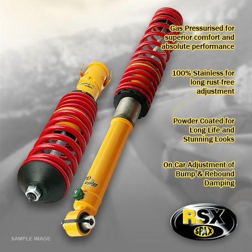 A6 (4B) (4B)-01/97-12/03-Saloon,Avant-1.8T,2.4,2.5TDi,2.8,3.0-Quattro-Lowering:35-65 / 35-65mm- Performance Kit; Ride & Height Adjustable Fr&Rr
