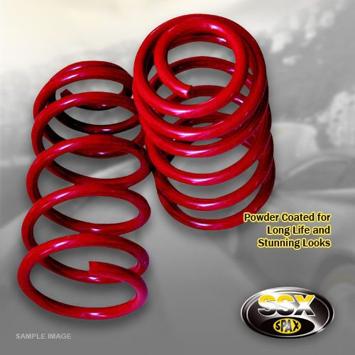 Polo 6 (6R)-06/09---1.2;1.4--Lowering:25/30mm- SSX Performance Lowering Spring Kit
