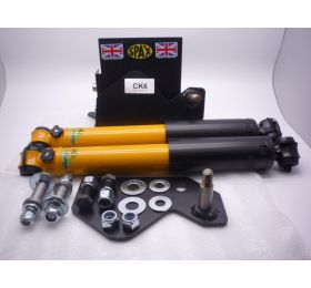 Midget (MK 2/4)-64-75-Cabrio--REAR Conversion--Telescopic Conversion Rear